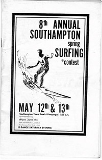Southampton Surfing Contest in the late 1960's East Coast Surf History