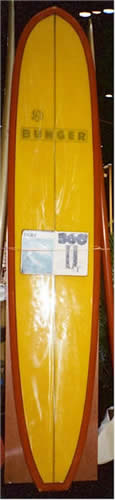 Bunger 360 Noserider Model Surfboard at Surf Expo Orlando Florida